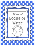 Bodies of Water Student Mini Book Science 3.E.2.1