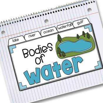 Bodies of Water Tab-Its™