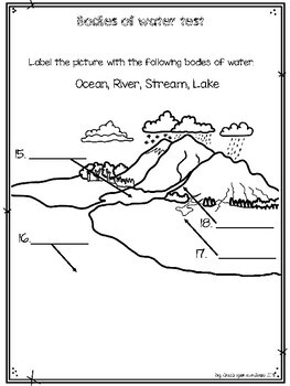 Bodies of water Test