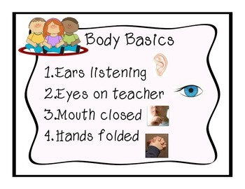 Body Basics Handout