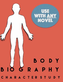 Body Biography- Hand out & PowerPoint- Use with ANY book or Novel