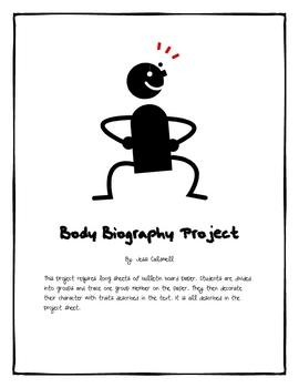 Body Biography Project - For Any Novel