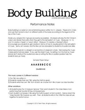 Body Building – A Body Percussion Piece