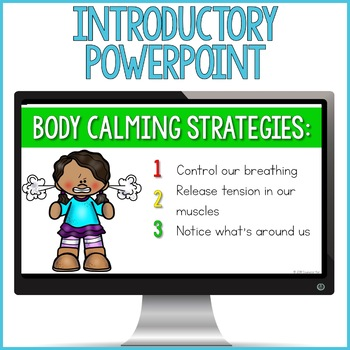 Body Calming Strategies Centers: Coping Skills Classroom Guidance Lessons