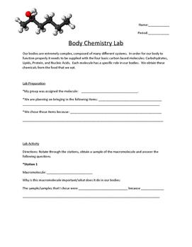 Body Chemistry Lab