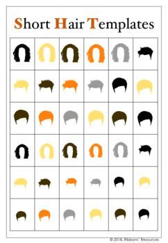 Clipart - Body, Clothes, Hair