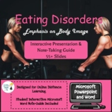 Body Image & Eating Disorders Microsoft PPT & Notes - Onli