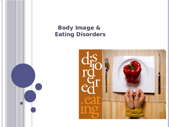 Body Image and Disordered Eating Presentation