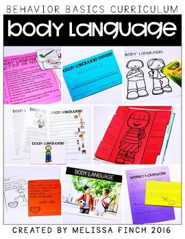 Body Language-  Behavior Basics Program for Special Education