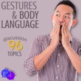 Body Language and Gestures Adult ESL Conversation Topics