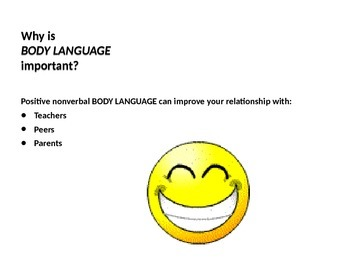 Body Language, Negative or Positive, What does Yours Say?