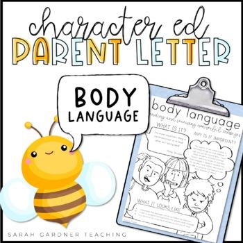 Body Language Parent Letter
