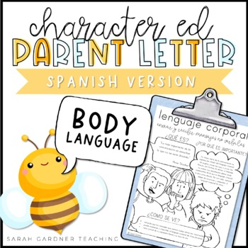Body Language Parent Letter - SPANISH