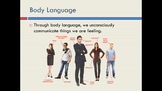 Body Language PowerPoint How Will Posture Affect My Job Interview