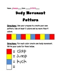 Body Movement Pattern