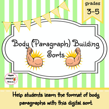 Body (Paragraph) Building Digital Sort