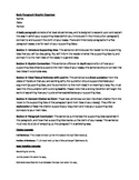 Body Paragraph Explanation and Graphic Organizer