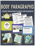 Body Paragraphs: Notes and Activity Bundle