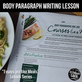 Body Paragraphs are like Courses: 45-Minute Writing Lesson for ANY Essay!