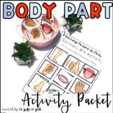 Body Parts Activity Packet | Special Education and Autism Resources