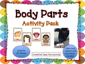 Body Parts Activity Set