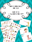 Body Parts Bingo & Flash Cards (PPT) for ELs!