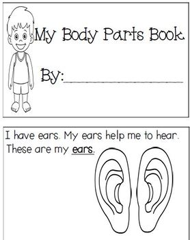 Body Parts Book