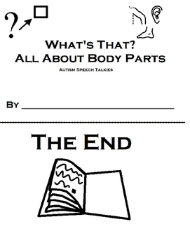 """Body Parts Book and """"WH"""" Questions"""