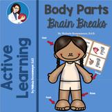 Body Parts Brain Break Activities