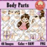 Body Parts *Bundle* Clip Art