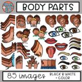 Body Parts/People Clip Art • SpeakEazySLP
