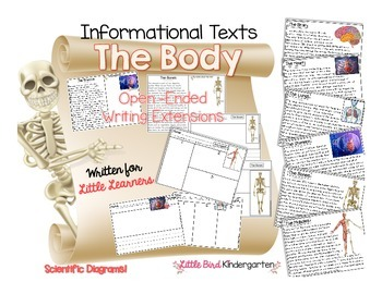 Body Parts Close Reading & Listening for Little Learners