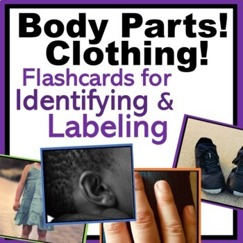 Body Parts & Clothing: Identify and Label - Autism, Speech, ABA
