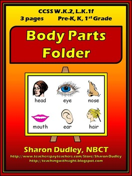 Body Parts Folder