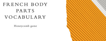 Body Parts Game : honeycomb game