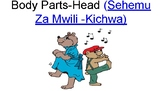 Body Parts (Head) in Swahili