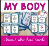 Body Parts I have/ Who has cards