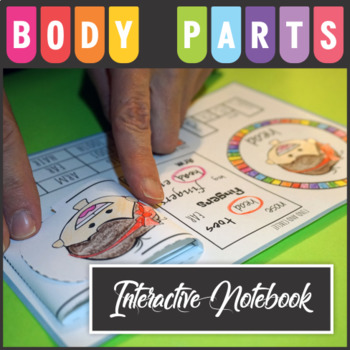 Body Parts Interactive Notebook & Memory Game
