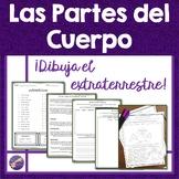 Body Parts, Las Partes del Cuerpo, Draw the Alien Activity