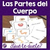 Body Parts, Las Partes del Cuerpo, Spanish Conversation, V
