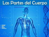 Body Parts (Las partes del cuerpo) Power Point in Spanish (46 slides)