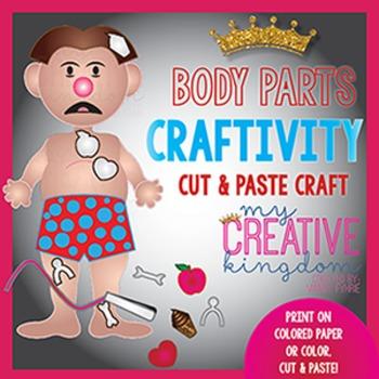 Body Parts Operate Craftivity