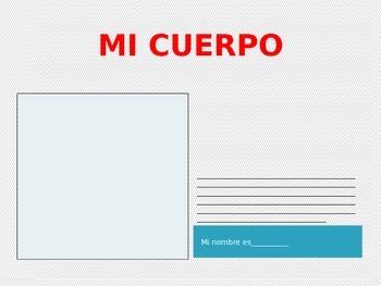 El Cuerpo Unit- Spanish Body Parts Power Point Project