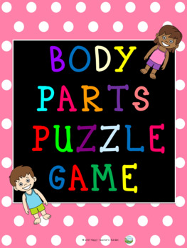 Body Parts Puzzle Game