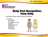 Body Parts Recognition - Itchy Itchy Mp3 Song with Lesson