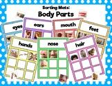 Body Parts Sorting Mats
