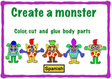 Body Parts Spanish: Create your own monster