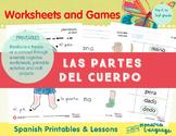 Las Partes del Cuerpo- My body in Spanish