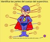 Body Parts Spanish SMART Board Lesson
