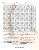 Body Parts Spanish Word Search Worksheet